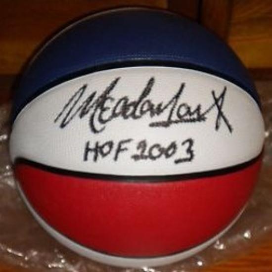 Autographed HOF Basketball