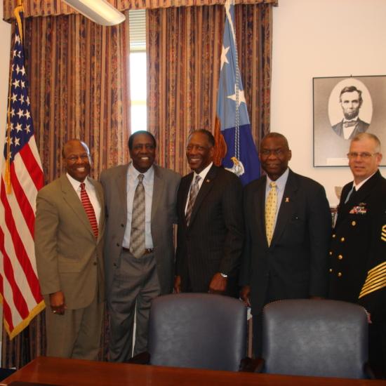 Meadowlark at Pentagon w Generals a