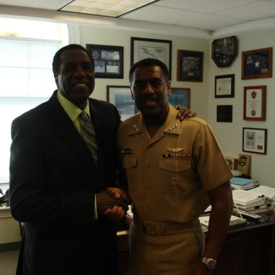 Pentagon w Vice Admiral AnthonyWinns