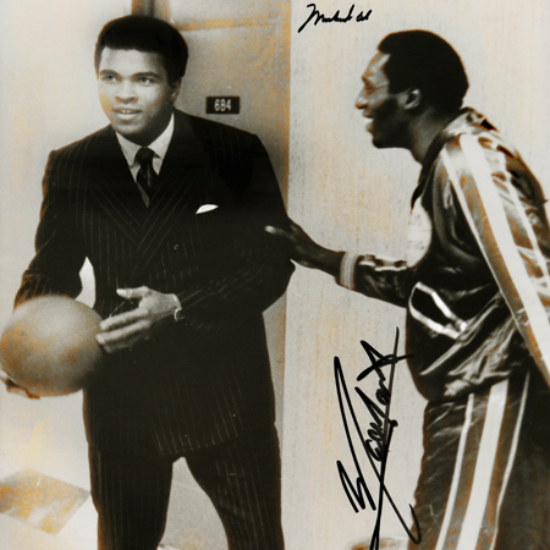 Meadowlark and Mohammad Ali